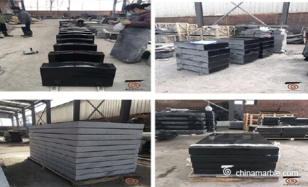 shanxi black granite and new grey granite
