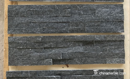Cultured Black Quartzite , Natural Yellow Quartzite