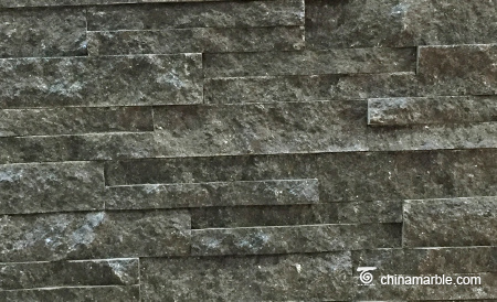 Dark Grey Granite Culture Stone, Ledge Panel