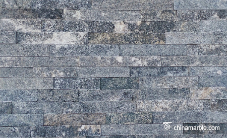 Black Granite Culture Stone, Ledge Panel