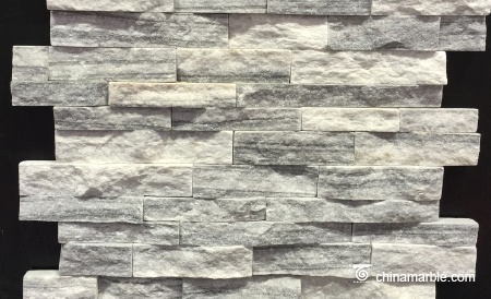 Cloudy Grey Culture Marble Stone/Interior Wall Cladding System/Stone Decoration Wall