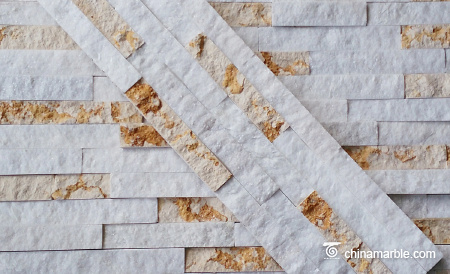 Beige Marble Culture Stone, Ledge Panel