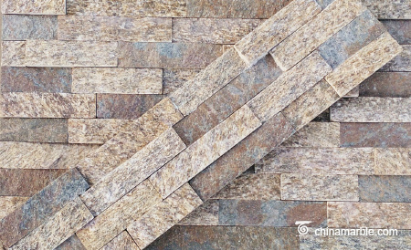 Tiger Skin Granite Wall Stone Cladding