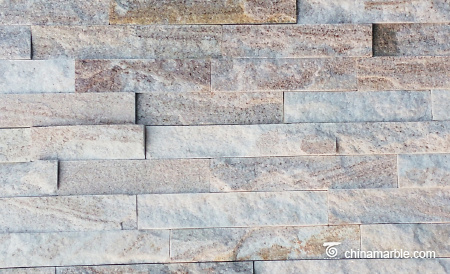 Light Wooden Vein Stacked Stone, Cultured Stone