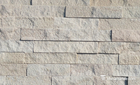 White Sandstone Ledge Stone Panel
