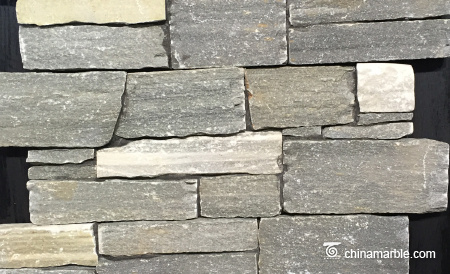 P013 Grey Slate Wall Stone Cladding