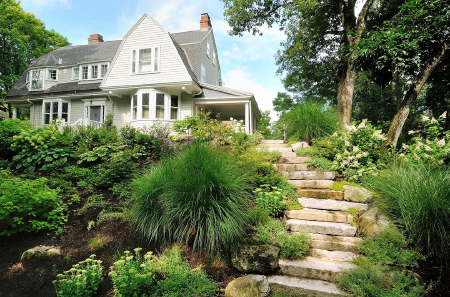 Enhance Your Garden Journey With Natural Stone Steps