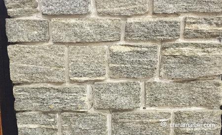 Grey Granite Meshed Back Cultured Wallstone