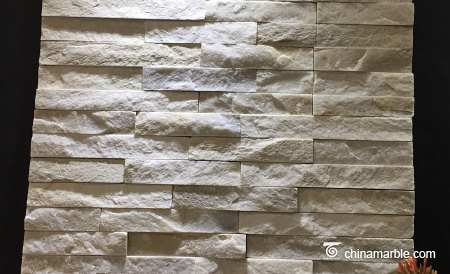 White Marble Flat Mini Panel Cultured Stone