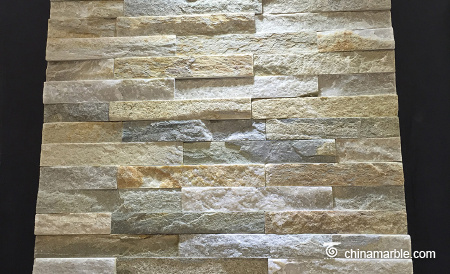 P014 Beige Cream Mini Panel Cultured Stone