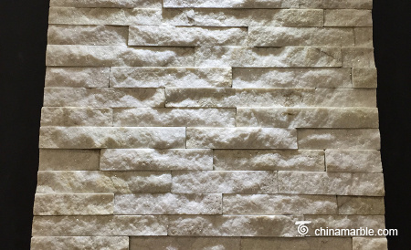 White Quartzite Mini Panel Cultured Stone