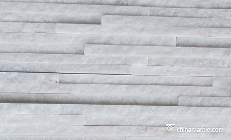 White Marble Pencil Thin Stone Veneer