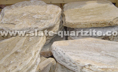P014 Light Grey Slate Stepper Stone