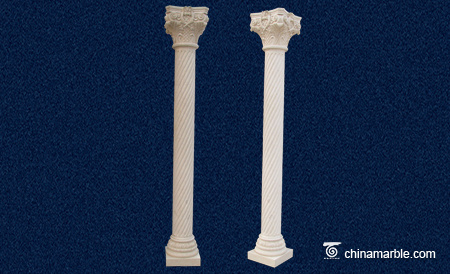 Marble Twisted column