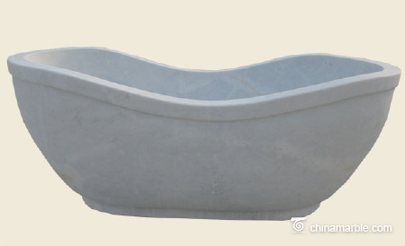 White marble Bath tub