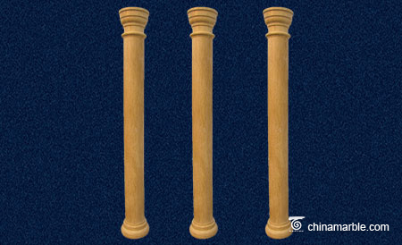 The Tuscan style column
