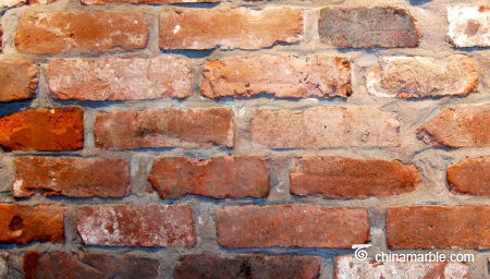 Reclaimed Red Brick Veneer