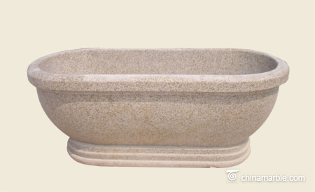Yellow granite Bath tub
