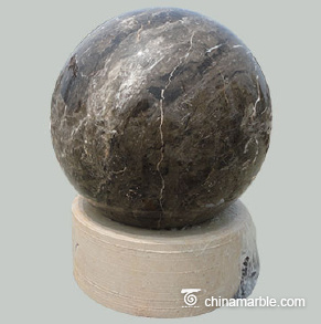 Brown Marble Sphere