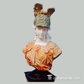 Lady with hat Bust