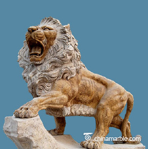 Yellow Stone Lion
