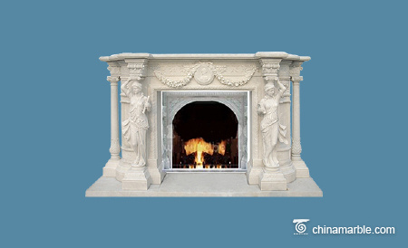 Luxury Marble Mantel