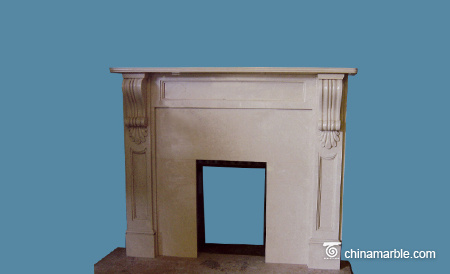 The William Style fireplace