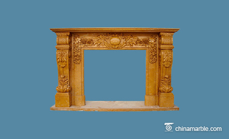 Yellow Stone mantel