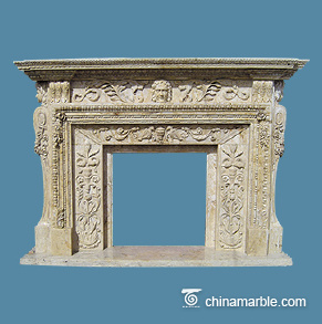 Carved Stone Surround