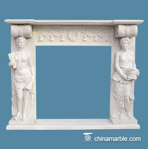 Two Ladies mantel