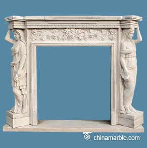 Grand marble surround