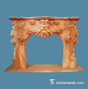 Cherubs Mantel