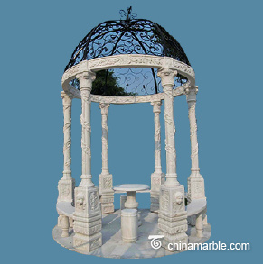 Twisted Pillars Gazebo