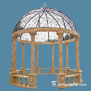 Travertine Gazebo