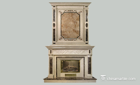 Marble Double Mantel