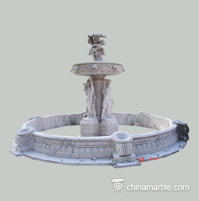 Statues Carved Water fountain