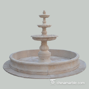 Limestone Water fountain