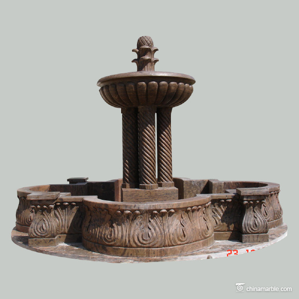 Brown Marble Fountain