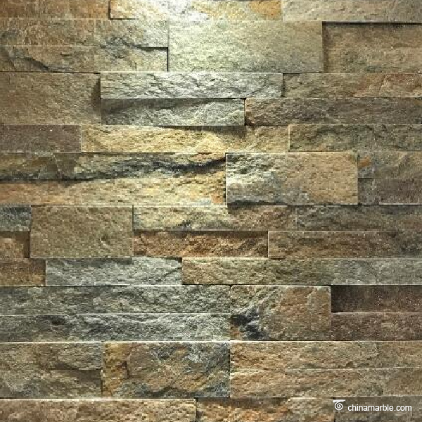 Rust Quartzite Stone Wall Cladding |China Marble