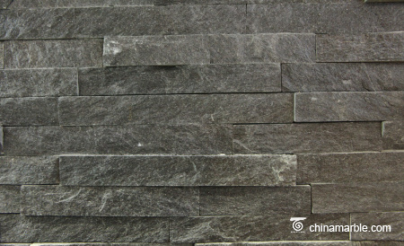 Black Slate Stone Wall Cladding DE-32