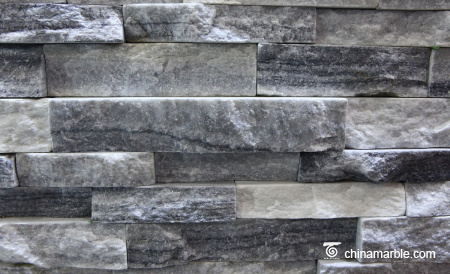 Grey Marble Rock Face Wall Stone Cladding WPB-59