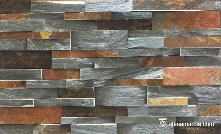 Rust and Black Mixed Slate Cheap