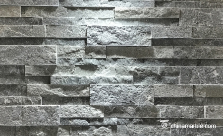 Grey Green Slate Wall Stone Cladding WPB-74
