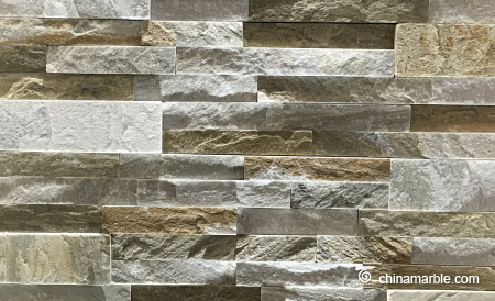 Grey Green Slate Wall Stone Cladding WS-016 B