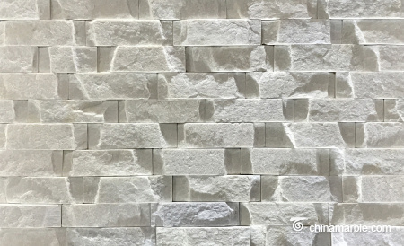 White Slate Wall Stone Cladding Ledge Stone WPB-36