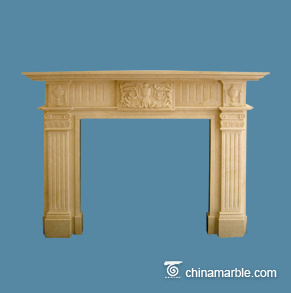 Cream Mantel
