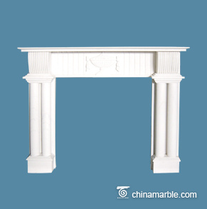 Double Pillars Mantel