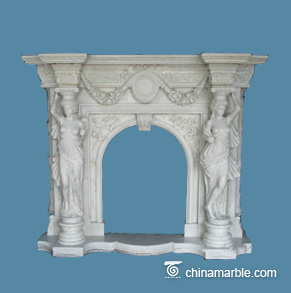 Luxury Marble Fireplace