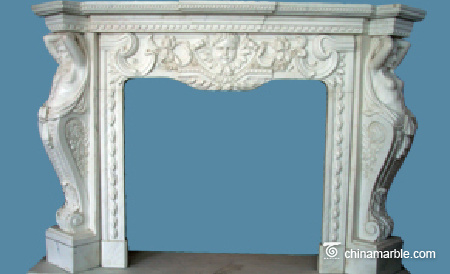 Two Figures Mantel