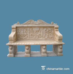 Carved Bench Seat